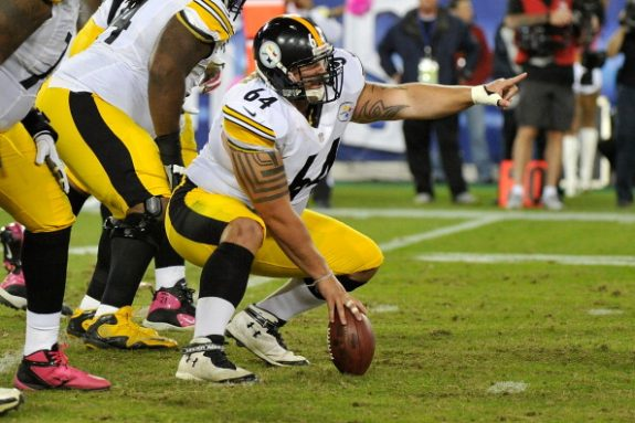 Steelers Bring Back Center Doug Legursky