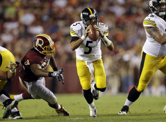 Steelers Activate QB Bruce Gradkowski from PUP List