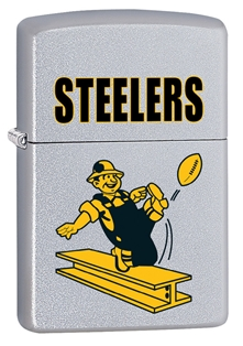 Win a NEW Throwback Pittsburgh Steelers Zippo Lighter!