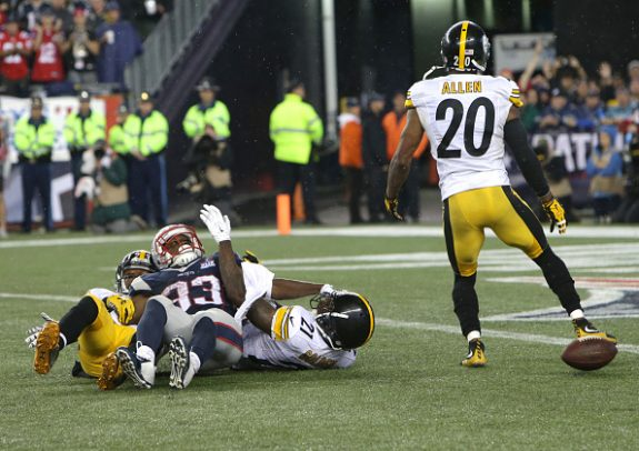 Pittsburgh Steelers Vs. New England Patriots At Gillette Stadium