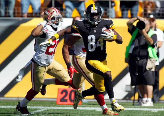 Steelers Bounce Back Big Behind Ben, Brown and Williams in 43-18 Win Over 49ers