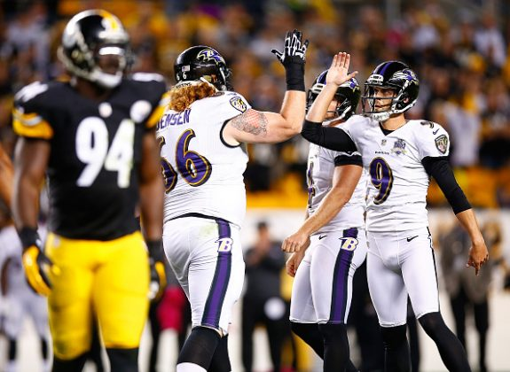 Steelers Blow 20-7 Lead; Lose in Overtime to Ravens 23-20