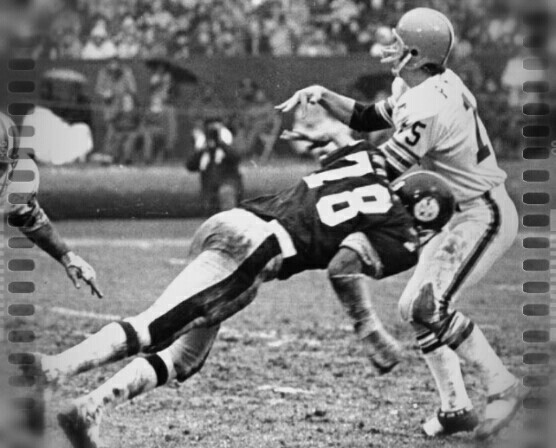 Dwight White Steelers Mike Phipps Browns