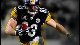 Steelers tight end Heath Miller