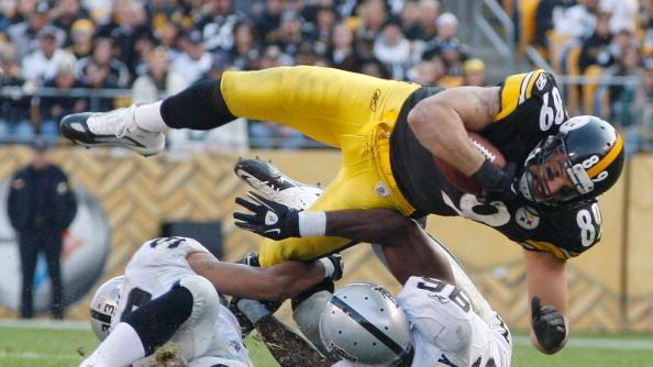 Matt+Spaeth+TE+Pittsburgh+Steelers+vs+Oakland+Raiders