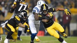 Steelers RB DeAngelo Williams vs Indy Colts