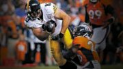 Steelers tight end Heath Miller vs Denver Broncos