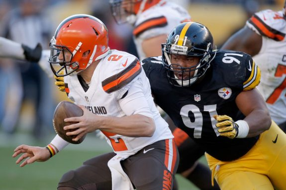 Manziel+Tuitt+Steelers+Browns