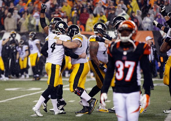 Wild 18-16 Win in Cincinnati Advances Steelers to AFC Divisional Round