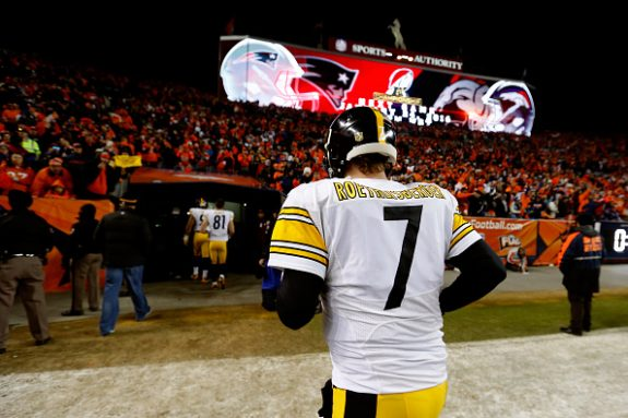 Steelers QB Roethlisberger Hoping to Be Able to Take the Practice Field Next Week