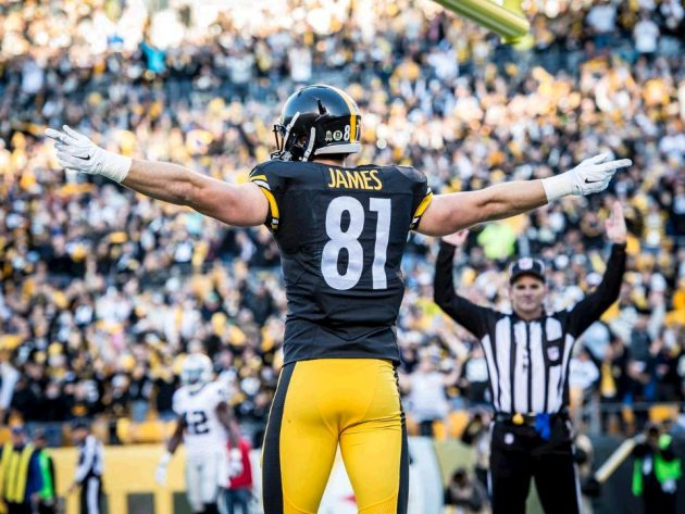 Steelers Tight End Ratings