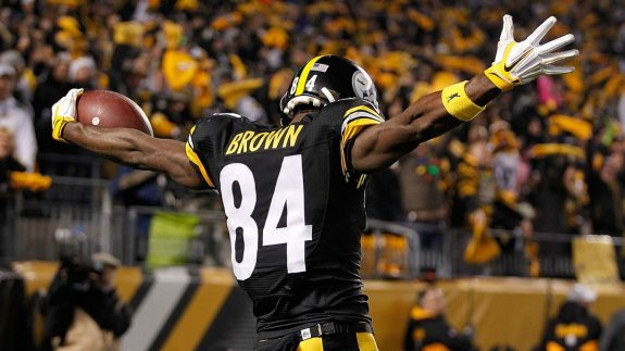 Schefter: Steelers To Restructure Antonio Brown's Deal; to Be Done Shortly