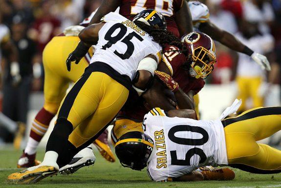 Pittsburgh Steelers v Washington Redskins