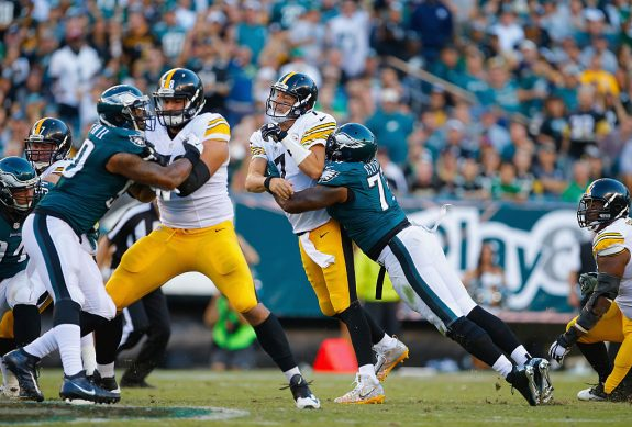Steelers Beaten Every Which Way, Embarrassed By Eagles 34-3 in Philadelphia