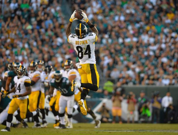 "Antonio Brown on the Philadelphia Beat Down – ""We Got Our Butt Kicked"""