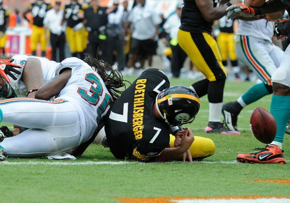 NFL: OCT 24 Steelers at Dolphins