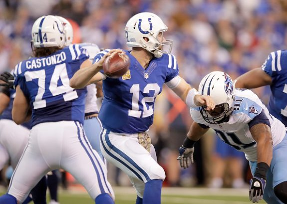 Colts QB Andrew Luck in Concussion Protocol; May Not Be Able to Face Steelers Thanksgiving Night