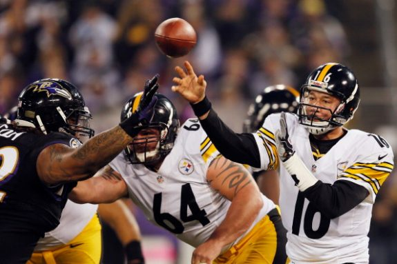 Flashback Friday: Batch Leads the Steelers To a Huge Last Play Win in Baltimore in 2012