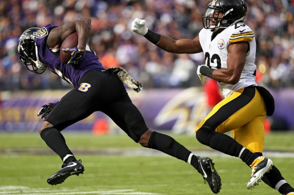 Ravens vs Steelers Thursday Injury Report