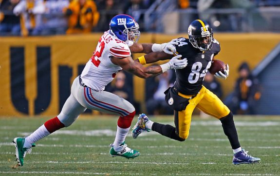 First Half Thoughts on the Steelers 14-0 Lead Over the Giants