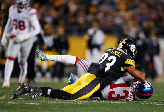 Steelers Defense Lowers the Boom on the Giants in 24-14 Win to Improve to 7-5