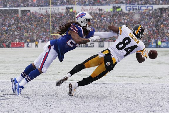 First Half Thoughts On the Steelers 14-7 Lead Over the Bills