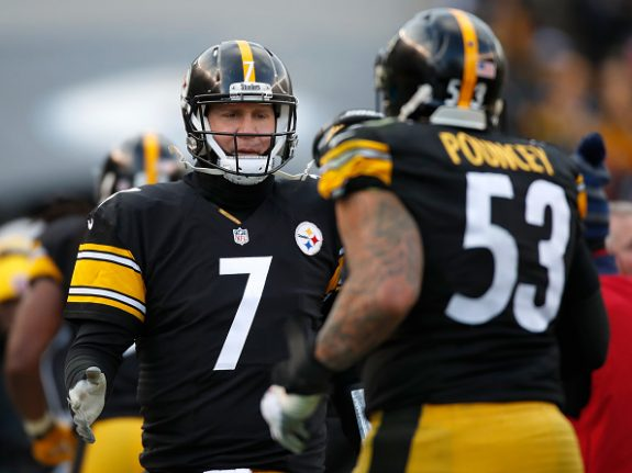 Ben Roethlisberger Leaves Heinz Field in Walking Boot After Win Over Miami