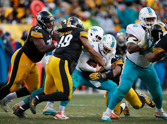 Steelers Squish the Fish; Slam the Dolphins 30-12 in AFC Wild Card Game to Move On in Playoffs