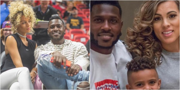 Steelers WR Antonio Brown Goes Back to the Mother of His Kids After Leaving Her for Instagram Model