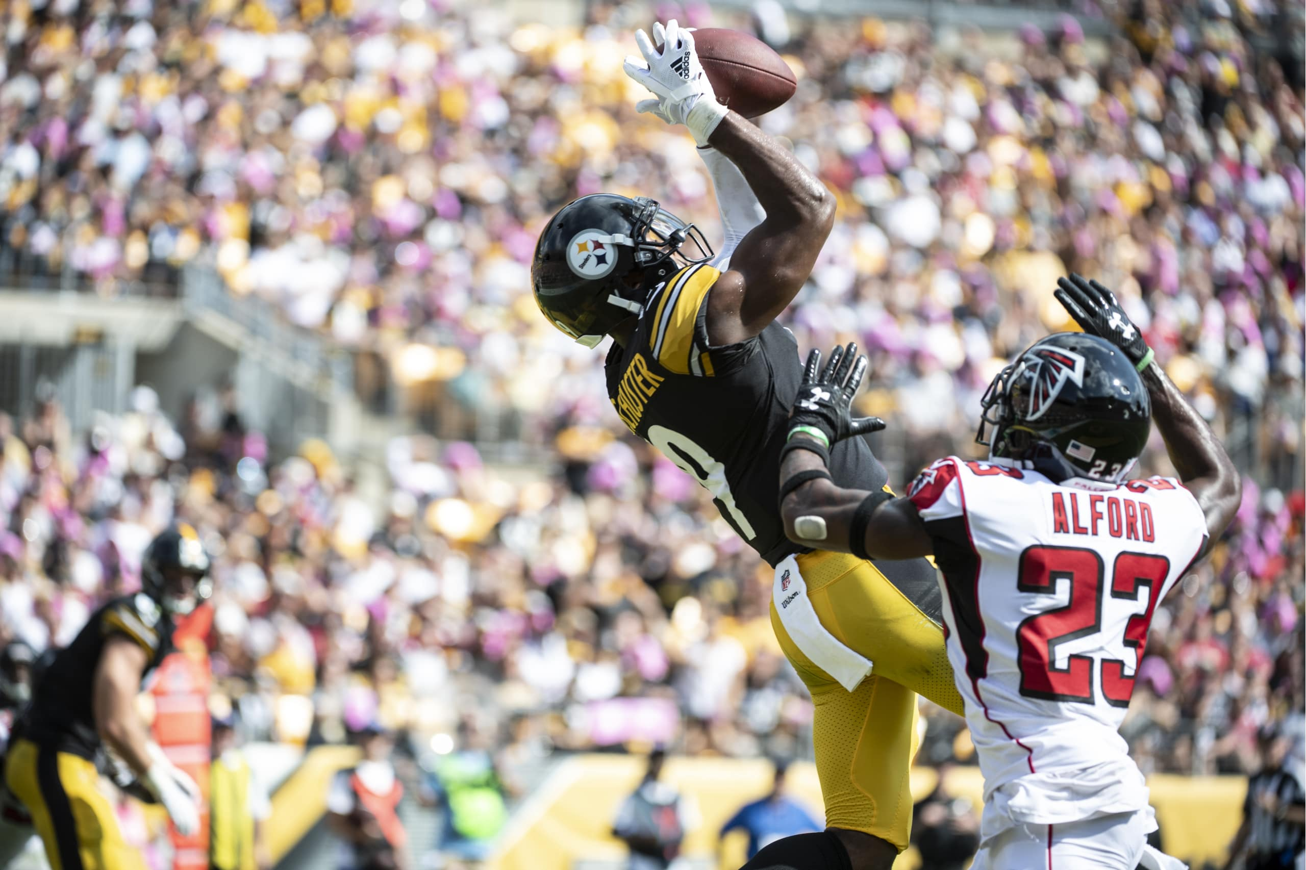 53830fda24d Don t tell Steelers leading wide out JuJu Smith-Schuster that he s not  going to play in Sunday s huge game down in New Orleans against the Saints  despite a ...
